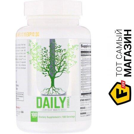Мультивитаминный Комплекс Universal Nutrition Daily Formula, 100 таблеток | Seven.Deals