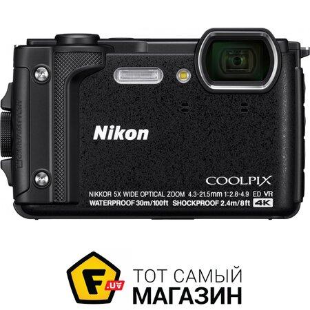 Фотоаппарат Nikon Coolpix W300 Black   Seven.Deals