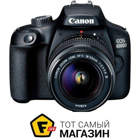 Фотоаппарат Canon EOS 4000D Kit 18-55mm DC III | Seven.Deals