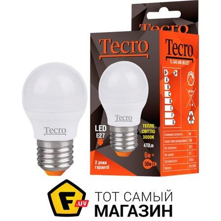 Светодиодная Лампа Tecro TL-G45-6W-3K-E27 | Seven.Deals