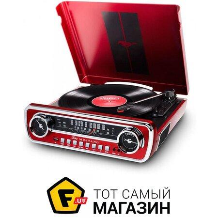 Проигрыватель Виниловых Пластинок iON Mustang LP Red | Seven.Deals