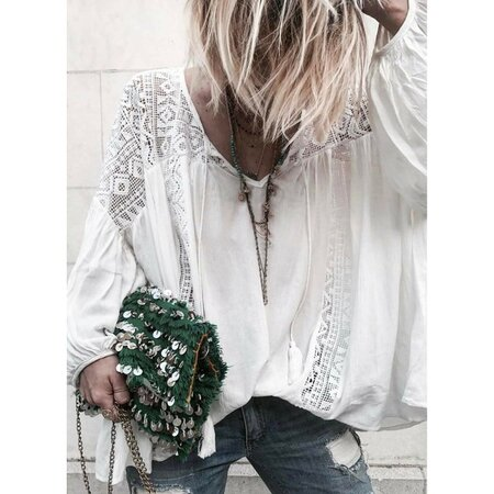 Solid Arabian Others Long Sleeve Blouses (1645259526) | Seven.Deals